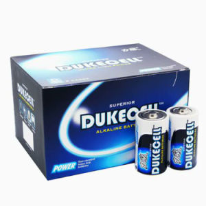 Super Alkaline Battery D Size with Aluminium Foil Jacket pictures & photos