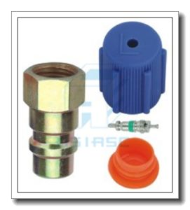 Customized Auto A/C Cap Service Port Fitting Adapter MD2030&2031 pictures & photos