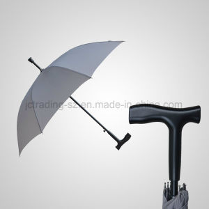 Automatic Walking Stick Straight Umbrella (JL-AWK101) pictures & photos