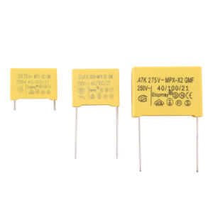 0.1UF 305V Metallized Polypropylene Film X2 Capacitor pictures & photos