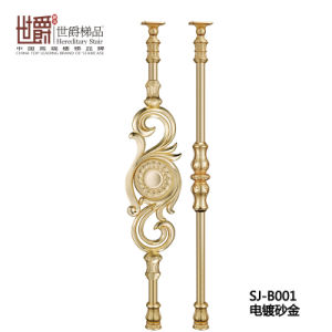 Decorative Villa Stair Handrail Casting Aluminum Railing for House (SJ-B001) pictures & photos
