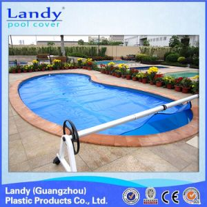 Swimming Pool Cover Reel Help to Roll The Cover pictures & photos