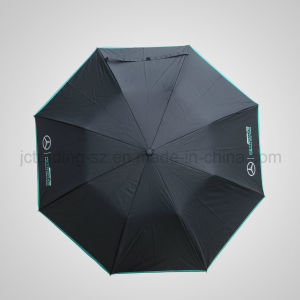 2 Section Automaic Folding Umbrella Rain & Sun Parasol (JF-ABZ201) pictures & photos