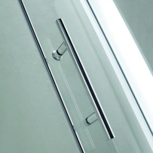 Sliding Bathroom Shower Enclosure with Stainless Steel Handle (K04) pictures & photos