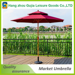 Customized Waterproof Convenient Easy up Straight Market Umbrella
