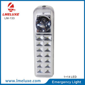 0.5W Sportlight + 14 PCS SMD LED Rechargeable Emergency Light pictures & photos