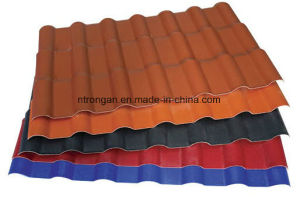 Sythetic Resin Roof Tile/Plastic PVC Sheet/ASA Coated PVC Roofing Sheet pictures & photos