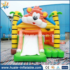 0.55mm PVC Commercial Lovely Tiger Inflatable Bouncer Castle for Sale pictures & photos