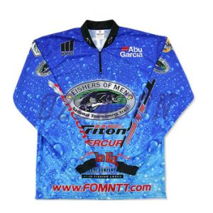 Factory Directly Wholesale Quick Dry Sublimation Outdoor Fishing Shirt (F014) pictures & photos