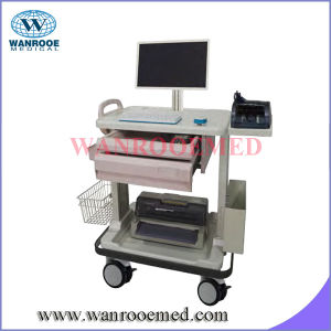Bedside Charging Cart with Counting Machine Tray pictures & photos