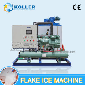 Koller 10 Tons/Day Dry Flake Ice Machine with PLC Control System for Fresh pictures & photos