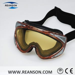 Double Lenses Wind-Proof Anti-Scratch Sport Goggles pictures & photos