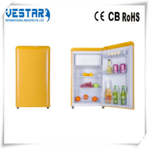 Red Color Mini Refrigerator with 98L Fridge pictures & photos