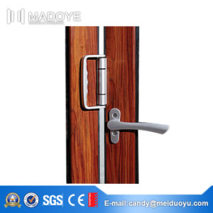 High Quality Low Price Double Glass Bi-Folding Door for Residence pictures & photos