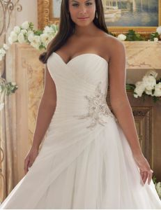 2017 Plus Size Bridal Wedding Dresses Ctd203 pictures & photos