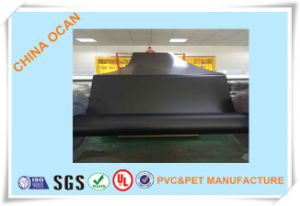 Offset Printing Black Matt Plastic PVC Sheet pictures & photos