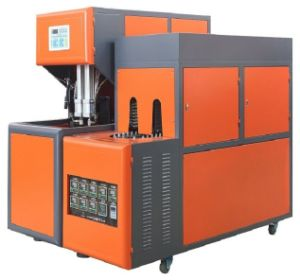 Semi Automatic Linear Pet Stretsh Blow Molding Machine pictures & photos