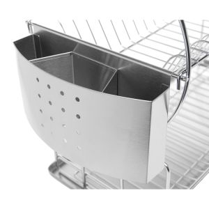 Stainless Steel Two Tier Dish Rack pictures & photos