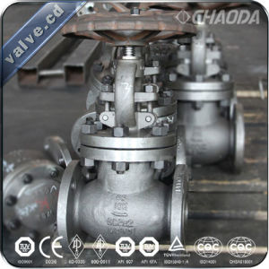 JIS Standard Flanged Cast Steel Globe Valve pictures & photos