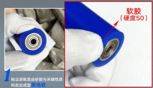 Manual Static Cleaning Roller, Silicone Sticky Roller, Sticky Pad pictures & photos