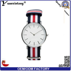 Yxl-261 Hot Sale Nylon Strap Watch Fashion Promotion Sport Gift Watch for Men Ladies pictures & photos