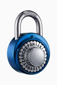 Aluminum Anodizing Word- Open Combination Lock 503A pictures & photos