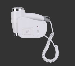 Wall-Mounted Luxurious ABS White Hair Dryer for Hotel Bathroom Use pictures & photos