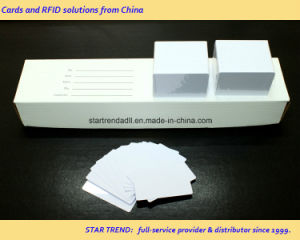 Hico Magnetic Stripe PVC Card /Plain White 30mil for Whoesale pictures & photos