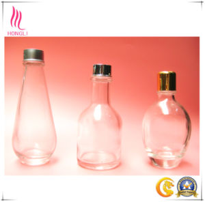 High Capacity Clear Glass Bottles with Different Shapes pictures & photos