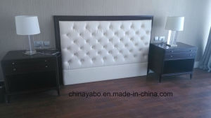 Hotel PU Headboard with Solid Wood Frame pictures & photos