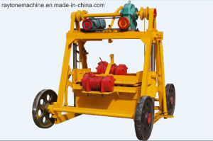 Mobile Qt40-3b Egg Layer Block Machine Concrete Hollow Brick Mmaking Machine pictures & photos