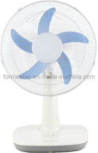 16 Inch Table Fan 15W AC DC Electrical Fan pictures & photos