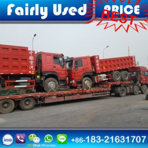 Second Hand Used 6X4 HOWO Dump Tipper Truck 371HP