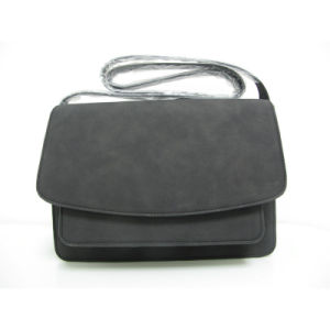 Fashion Lady PU Leather Flap Shoulder Satchel Handbag