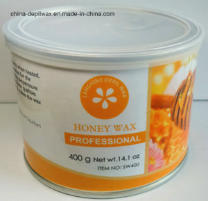 Honey Depilatory Wax Soft Strip Wax 400g Can pictures & photos