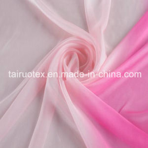 100% Silk of Chiffon Silk for Lady Dress Fabric pictures & photos