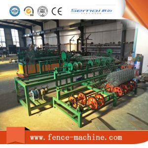 Chain Link Wire Mesh Weaving Machinery Manufacture pictures & photos