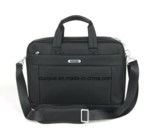 "Simple Promotional Nylon Laptop Messenger Bag, Portable Multifunctional Laptop Single Shoulder Bag Fit for 15.6"" Laptop"