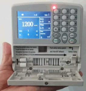 01. -1200ml/Hr CE-Marked Mini Infusion Pump pictures & photos