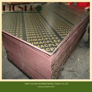 Red Film Faced Hardwood Core Plywood for Indian Market pictures & photos