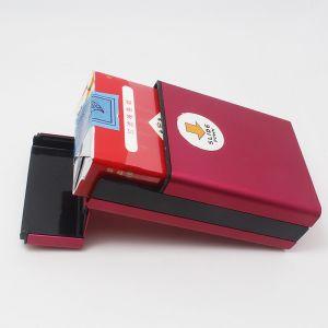 2017 New Slide Down Open Aluminum Cigarette Case Box Holder Tobacco