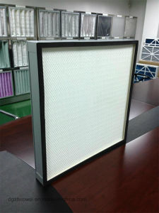 High Efficiency Mini Pleated HEPA Filter 99.99% @0.3um pictures & photos