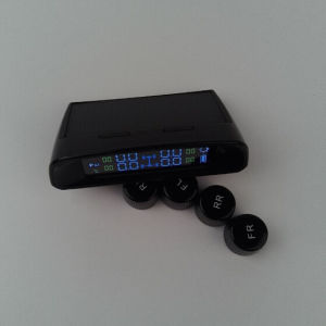 Wireless TPMS Solar Charge Tire Pressure Monitor USB Charge TPMS Internal and External TPMS pictures & photos