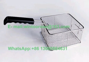 17L Single Stainless Steel Electric Fryer with Oil Valve pictures & photos