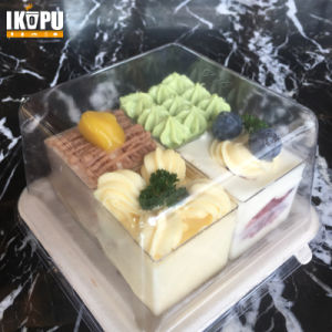 Unbleached Pulp Sugarcane Food Container for Salad Hot Cold Food pictures & photos