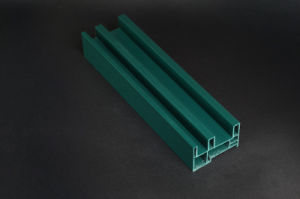 Sliding Series UPVC Profile Plastic Window Framed Steel Reinforcement Glass Door pictures & photos