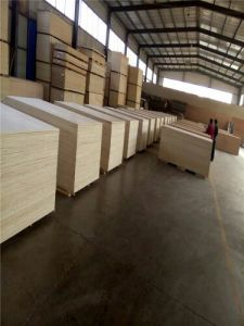 Commercial Plywood, Poplar Core, Okoum Faced and Back, 1220X2440X12mm pictures & photos