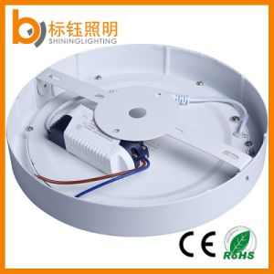 Ce RoHS Approved Die-Casting Aluminum Ceiling Lamp 18W Round Home Lighting Surface Mount LED Panel Light pictures & photos