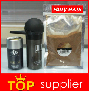 China Hair Cosmetic Manufacturer Fully Keratin Hair Building Fibers pictures & photos