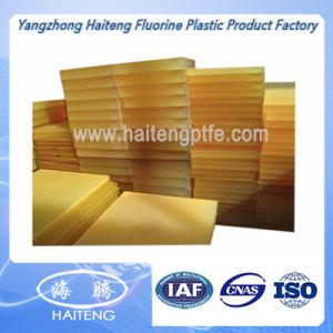 Light Yellow Polyurethane Sheet PU Sheet White 30MPa 80 - 90shore a pictures & photos